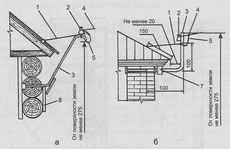 Электроснабжение дома - Двухпроводный ввод через деревянную стену