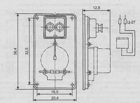 Квартирный щиток ЩК-10: Общий вид и электрическая схема (размеры в см). Квартирные щитки изготавливаются в...