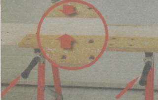 Инструменты для разметки и фиксации древесины - Фиксация с помощью рукоятки