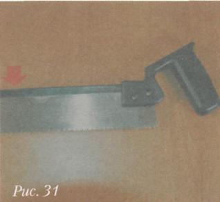 Инструменты для разметки и фиксации древесины - Ножовка