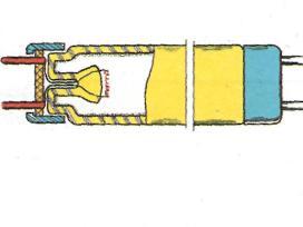 Люминесцентные лампы - устройство трубчатой люминесцентной лампы низкого давления