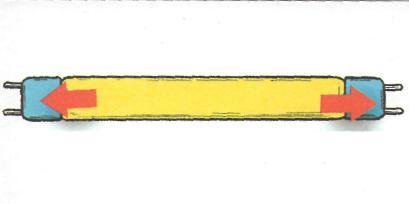Люминесцентные лампы - пример люминесцентной лампы