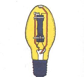 Люминесцентные лампы - дуговая ртутная лампа