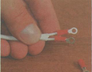 Патроны для ламп. Подключение лампы в патрон - готовый провод с вмонтированными кольцевыми наконечниками