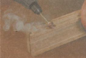 Угловая шлифовальная машина - Обжог материала