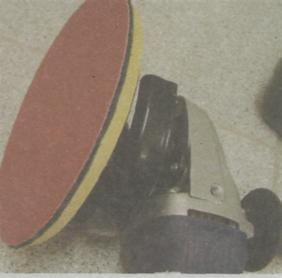 Угловая шлифовальная машина - Круг на специальной тканевой ворсистой основе