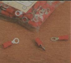 Скрытый способ проводки - наконечник кольцевой изолированный