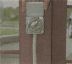 Наружные осветительные приборы - электрическая проводка на улице 2