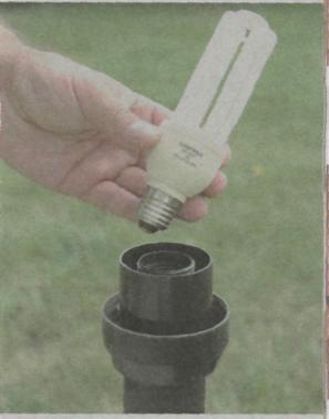 Наружные осветительные приборы - энергосберегающая газоразрядная лампа дневного света