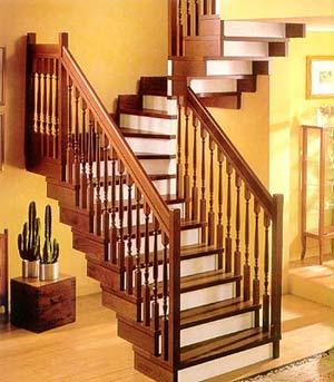 Деревянные лестницы - Пример лестницы 1