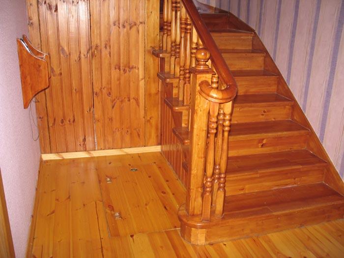 Деревянные лестницы - Пример лестницы 2