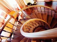 Лестница в дом - Винтовая лестница