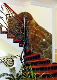 Лестница в дом - Маршевые и винтовые лестницы