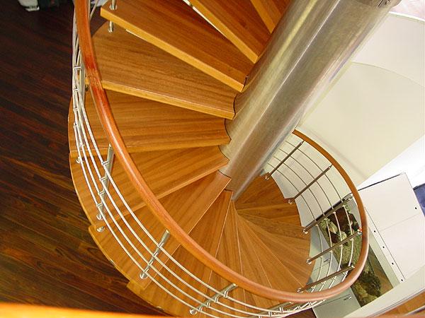 Расчет лестниц - Винтовая лестница
