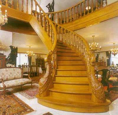 Расчет лестниц - Полезная ширина площадок