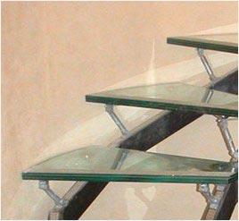 Стеклянные лестницы - Стекляные ступени