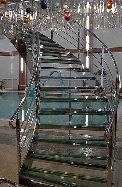 Металлические лестницы - Пример металлической лестницы