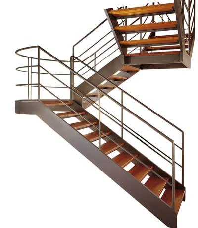 Металлические лестницы - Еще один пример лестницы