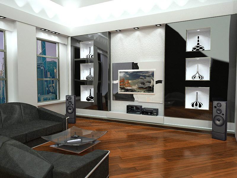 Гостиная комната — дизайн гостиной