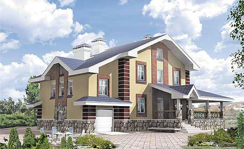 Купить коттедж. Приобретение загородного дома - Пример 3 загородного дома