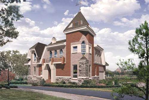 Купить коттедж. Приобретение загородного дома - Пример 4 загородного дома