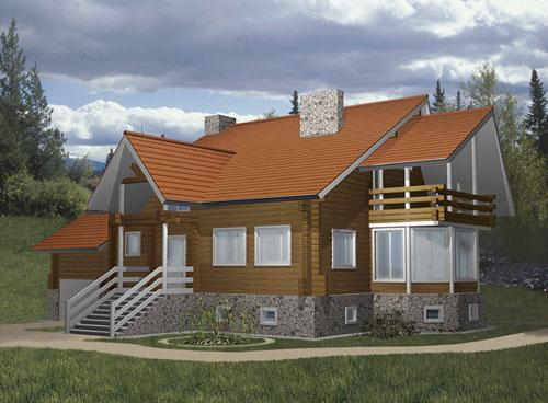 Купить коттедж. Приобретение загородного дома - Пример 5 загородного дома