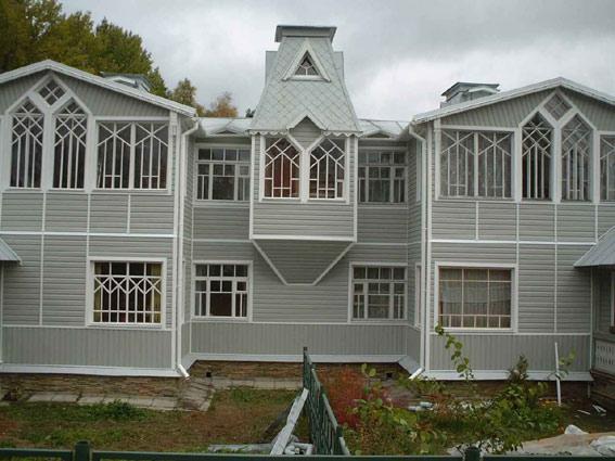 Цокольный сайдинг - Пример 2 цоколя здания