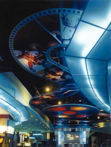 Многоуровневые потолки - Второй пример многоуровневого потолка