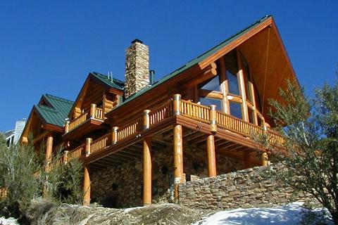 Строительство деревянных домов - Пример деревяного дома