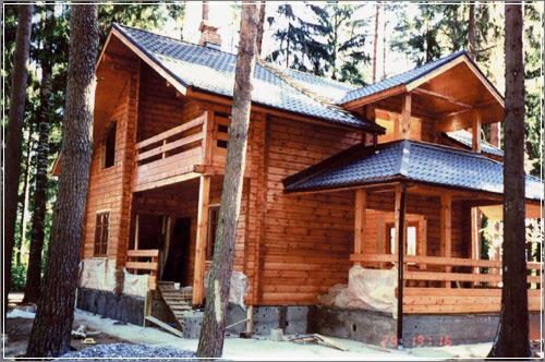 Строительство деревянных домов - Подготовка древесины для строительства дома