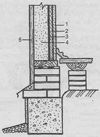 Каркасные стены - Устройство каркасных стен с засыпкой