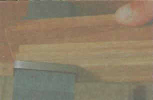 Пиление древесины. Работа с ножовкой - Пример