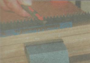 Пиление древесины. Работа с ножовкой - Зубы