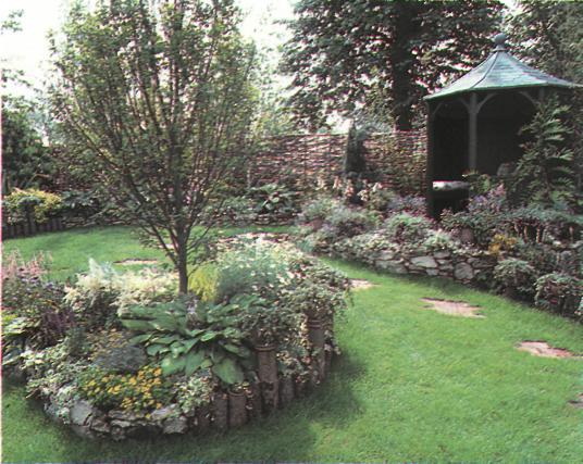 Основные принципы благоустройства сада - Обрамление и границы сада