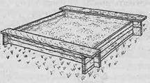 Благоустройство участка - Пример песочницы
