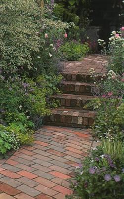 Дорожки и тропинки в саду и на участке - Покрытия дорожек и тропинок из клинкера