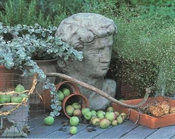 Ландшафтные работы на участке - Скульптуры в саду