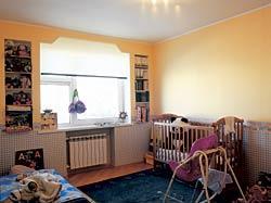 Перепланировка квартиры - Ремонт в детской комнате