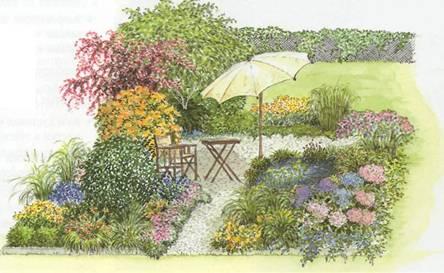 Стильный сад