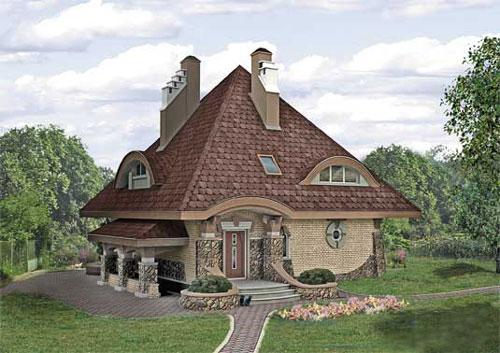 Выбор количества этажей дома - Пример дома