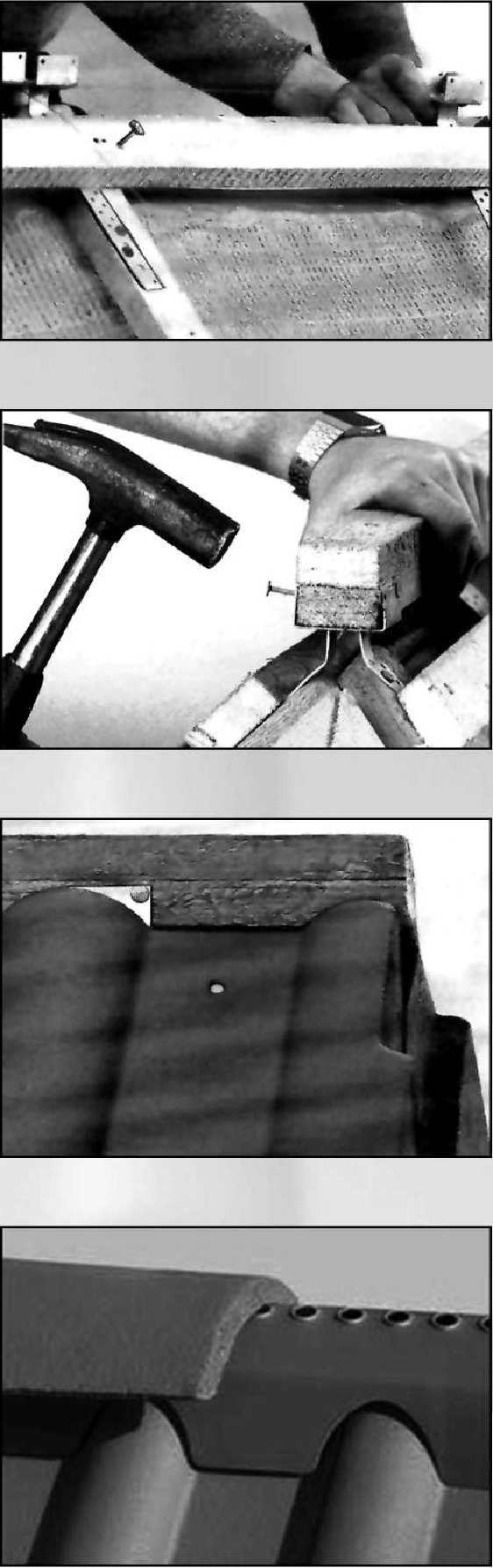 Устройство коньков черепичных крыш