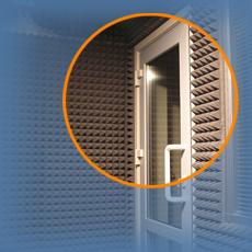 Звукопоглощающие материалы - Пример материала