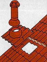 Монтаж металлочереци - Сквозные отверстия