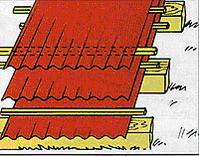 Монтаж металлочереци - Хранение металлочерепицы