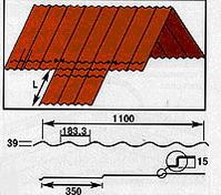 Инструкция по монтажу металлочерепицы - Выступающий лист