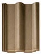 Цементно-песчаная черепица Braas - Франкфуртская коричневая черепица