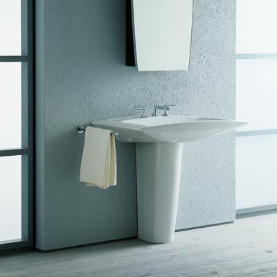 Выбор сантехники: ванна, раковина, унитаз, смесители - Пример умывальника