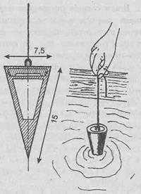 Строительный раствор - Стандартный конус и определение подвижности раствора
