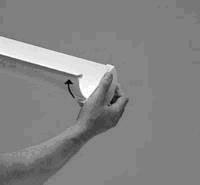 Монтаж водосточной системы - заглушки для желобов