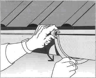 Монтаж водосточной системы - монтаж желобов
